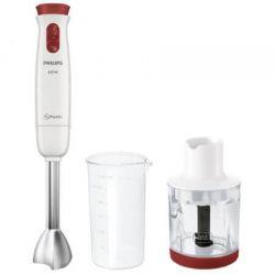 Mixer vertical PHILIPS HR1623/00, 2 viteze, 650 W, alb/rosu