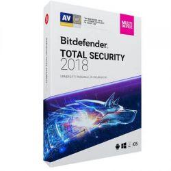 Antivirus BITDEFENDER Total Security 2018, 5 utilizator, 12 luni