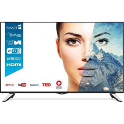 "Televizor LED Smart HORIZON 49HL8510U 49"" (124 cm), Smart TV, Plat, Ultra HD, Producător specific, Negru"