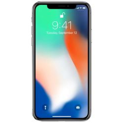 "Telefon APPLE iPhone X  5.8"" 2G, 3G, 4G, Single SIM, Hexa core, 3 GB RAM, stocare 64 GB, Argintiu, cameră față 7 MP, cameră spate 12 MP, Apple iOS 11"