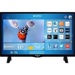 "Televizor LED Smart VORTEX 32V289S  32"" (81 cm), Smart TV, Plat, HD, Producător specific, Negru"