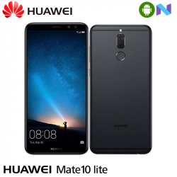 "Telefon HUAWEI Mate 10 Lite 5.9"" 1080x2160 pixels, 2G, 3G, 4G, Dual SIM (Dual Stand-by), Octa core, 4 GB RAM, stocare 64 GB, Negru, cameră față Dual 13 MP+2 MP, cameră spate Dual 16 MP+2 MP, Android 7.1 (Nougat)"
