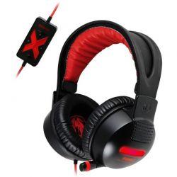 Casti cu microfon SOMIC G956 7.1 surround negru/rosu