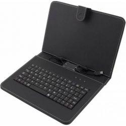 "Husa tableta + tastatura ESPERANZA Madera EK125 10,1"" Neagra"
