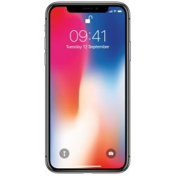 "Telefon APPLE iPhone X  5.8"" 2G, 3G, 4G, Single SIM, Hexa core, 3 GB RAM, stocare 64 GB, Space Gray, cameră față 7 MP, cameră spate 12 MP, Apple iOS 11"