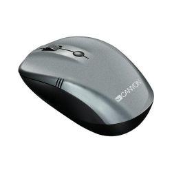 Mouse Wireless Canyon CNE-CMSW03DG, USB, Dark Grey