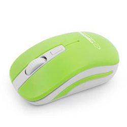 Mouse optic ESPERANZA EM126WG Wireless, Nano USB, 2.4 Ghz, Verde