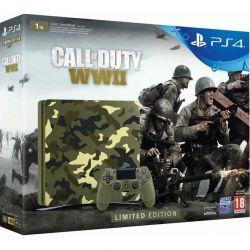 Consola SONY PlayStation 4 Slim 1 TB + Call of Duty WWII Limited Edition