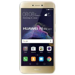 """Telefon HUAWEI P8 Lite 2017 DE 5.2"""" 1080x1920 pixels (FHD), 2G, 3G, 4G, Dual SIM, Octa core, 3 GB RAM, stocare 16 GB, Auriu, cameră față 8 MP, cameră spate 12 MP, Android 7.0 (Nougat)"""