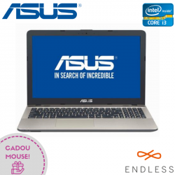 "Laptop ASUS VivoBook Max X541UV-GO1046 15.6"" 1366x768 pixels, Intel® Core™ i3-7100U 2.40 GHz Kaby Lake™, 4 GB DDR4, HDD 500 GB, nVidia® GeForce® GTX 920MX 2 GB, Negru"