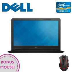 Dell Inspiron 15 (3567) 3000 Series, 15.6-inch FHD (1920x1080), Intel Core i3-6006U, 4GB (1x4GB) DDR4 2400Mhz, 1TB SATA (5400RPM), DVD+/-RW, AMD Radeon R5 M430 2GB, WiFi 802.11BGN, Blth 4.0, non-Backlit Keyb, 4-cell 40WHr, Ubuntu, Black, 2Yr CIS