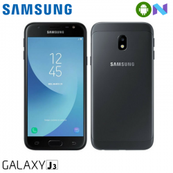 "Telefon SAMSUNG Galaxy J3 2017 5"" 720x1280 pixels (HD), 2G, 3G, 4G, Dual SIM, Quad core, 2 GB RAM, stocare 16 GB, Negru, cameră față 5 MP, cameră spate 13 MP, Android 7.0 (Nougat)"