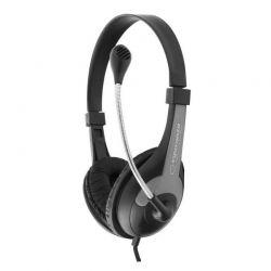 Casti cu microfon ESPERANZA Rooster EH158K Stereo Gri/Negru