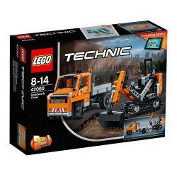 LEGO TECHNIC Echipaj pentru repararea drumurilor 42060