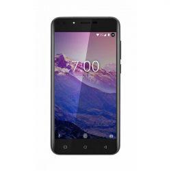 "Telefon KRUGER & MATZ Move 7 5"" 720x1280 pixels (HD), 2G, 3G, 4G, Dual SIM, Quad core, 1 GB RAM, stocare 8 GB, Negru, cameră față 2 MP, cameră spate 5 MP, Android 7.0 (Nougat)"