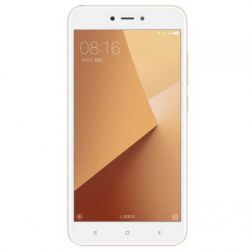"Telefon Xiaomi Note 5A Prime 5.5"" 720x1280 pixels (HD), 2G, 3G, 4G, Dual SIM (Dual Stand-by), Octa core, 3 GB RAM, stocare 32 GB, Auriu, cameră față 16 MP, cameră spate 13 MP, Android 7.0 (Nougat)"