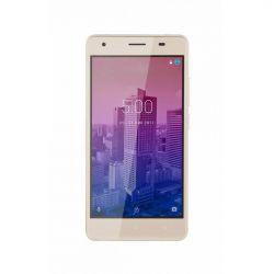 "Telefon KRUGER & MATZ Flow 5  5"" 720x1280 pixels (HD), 2G, 3G, 4G, Dual SIM, Quad core, 2 GB RAM, stocare 16 GB, Auriu, cameră față 2 MP, cameră spate 8 MP, Android 7.0 (Nougat)"