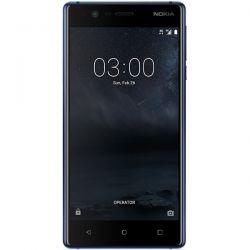 """Telefon NOKIA 3  5"""" 720x1280 pixels (HD), 2G, 3G, 4G, Dual SIM, Quad core, 2 GB RAM, stocare 16 GB, Albastru, cameră față 8 MP, cameră spate 8 MP, Android 7.0 (Nougat)"""