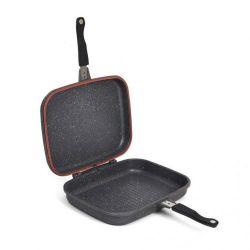 Tigaie HEINNER Dubla 32X24.5X7.5cm Easy Cook