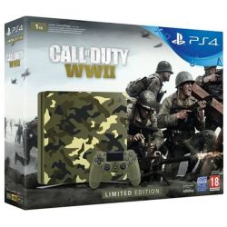 Consola SONY PlayStation 4 Slim (PS4 Slim) 1 TB Limited Edition + Call of Duty WWII