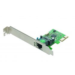 Placa de retea GEMBIRD Gigabit PCI-E GX1