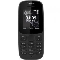 """Telefon NOKIA 105 2017  1.4"""" 160x120 pixels, 2G, Dual SIM, 4 MB RAM, stocare 0.04 GB, Negru,"""