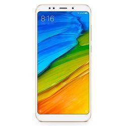 "Telefon XIAOMI Redmi 5 Plus 5.99"" 1080x2160 pixels, 2G, 3G, 4G, Dual SIM (Dual Stand-by), Octa core, 4 GB RAM, stocare 64 GB, Auriu, cameră față 5 MP, cameră spate 12 MP, Android 7.1 (Nougat)"