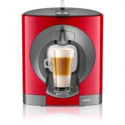 Espressor cu capsule KRUPS Nescafe Dolce Gusto Oblo KP1105, capacitate 0.8l, 1500 W, rosu