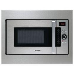 Cuptor cu microunde incorporabil DAEWOO KOC-9Q4T, 28 l, 900 W, grill 1250 W, argintiu