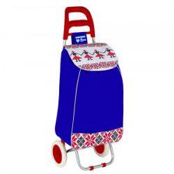 Troler de cumparaturi HEINNER Care Folk HR-AER-94BLUE, 33 l, albastru