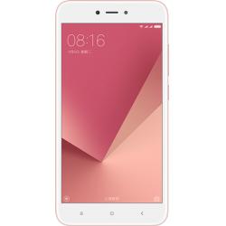 "Telefon XIAOMI Redmi Note 5A 5.5"" 1280x720 pixels, 2G, 3G, 4G, Dual SIM (Dual Stand-by), Quad core, 2 GB RAM, stocare 16 GB, Rose Gold, cameră față 5 MP, cameră spate 13 MP, Android 7.1 (Nougat)"
