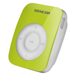 MP3 Player SENCOR cu clips 4GB SFP 1360 Verde