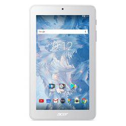 "Tableta ACER Iconia B1-7A0 7  7"" 1024x600, Quad core, 1 GB RAM, stocare 16 GB, Alb, cameră față 0.3 MP, cameră spate 2 MP, Android 7.0 (Nougat)"