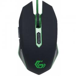 Mouse GEMBIRD MUSG-001-G 2400dpi Negru/Verde
