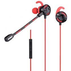Casti cu microfon Gaming SOMIC G618 Rosu/Negru