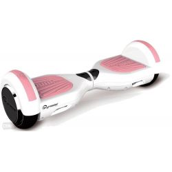 Scooter electric SKYMASTER Wheels 6 Dual White-Pink