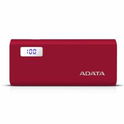 Power Bank ADATA P12500D 12500mAh, Rosu