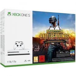 Consola MICROSOFT Xbox One S 1 TB + joc PlayerUnknown's Battlegrounds