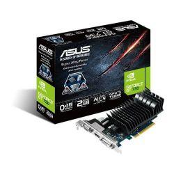 Placa video ASUS nVidia GeForce GT730 Silent 2GB, GDDR3, 64bit, Low Profile Bracket
