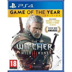 THE WITCHER 3: WILD HUNT - Game of the Year Edition PlayStation 4