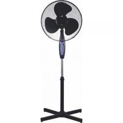 Ventilator cu picior  WELL Freeze FAN-STAND-FREEZE-WL, 3 viteze, 45 W, negru
