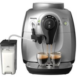 Espressor automat PHILIPS HD8652/59, 1400 W, 15 bar, argintiu