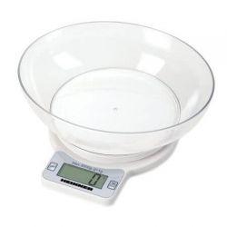 Cantar de bucatarie HEINNER HKSB-3000, 3kg, alb
