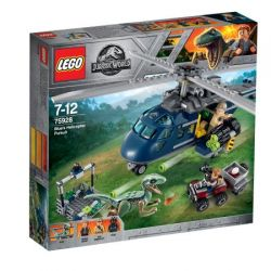 LEGO JURASSIC WORLD Urmarirea elicopterului albastru 75928