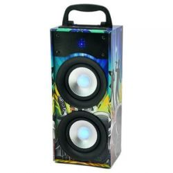 Boxa portabila PARTY Disco-Box 2, 20W cu Bluetooth/FM/USB/SD