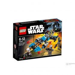 LEGO STAR WARS Motocicleta de viteza Bounty Hunter 75167