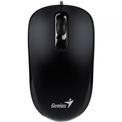 Mouse GENIUS DX-110, negru, optic, USB