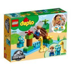 LEGO DUPLO Jurassic World Gradina zoo a uriasilor blanzi 10879
