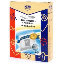 Saci universali aspirator ELECTROLUX/PHILIPS S-Bag, material sintetic
