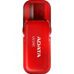 Memorie flash ADATA UV240 8 GB, USB 2.0, rosu